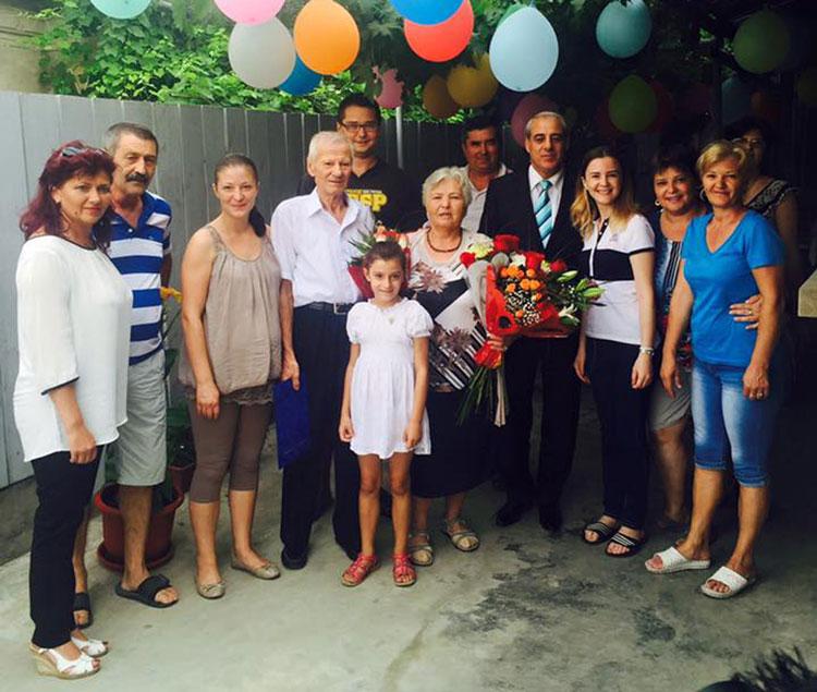Diplomă de excelenţă pentru familia Gheorghe Alexandru şi Paulina, la 50 de ani de căsnicie