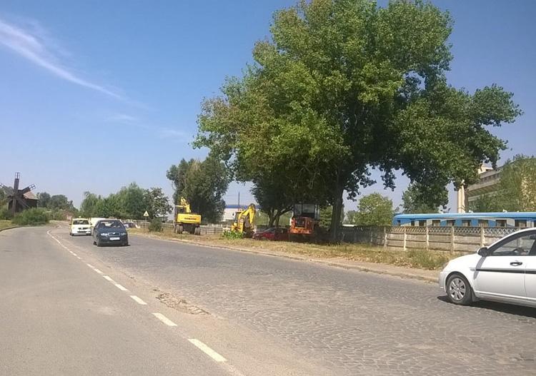 Încep lucrările de asfaltare a străzii ing. Ivanov Dumitru: constructorul a preluat şantierul