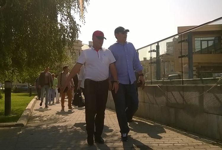 Premierul Ponta şi miniştrii săi, excursie în Delta Dunării, cu Naiada