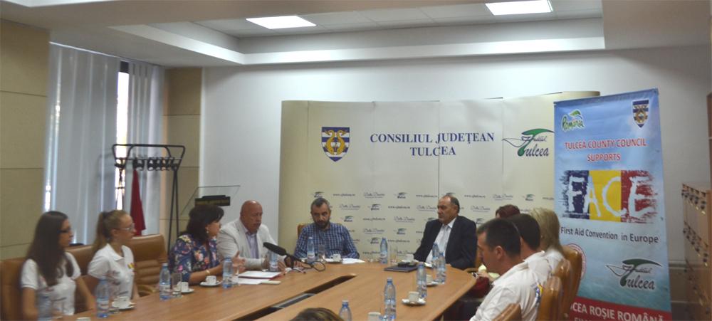Crucea Roşie Tulcea, echipaj de bază la Competiţia Europeană de Prim Ajutor – FACE