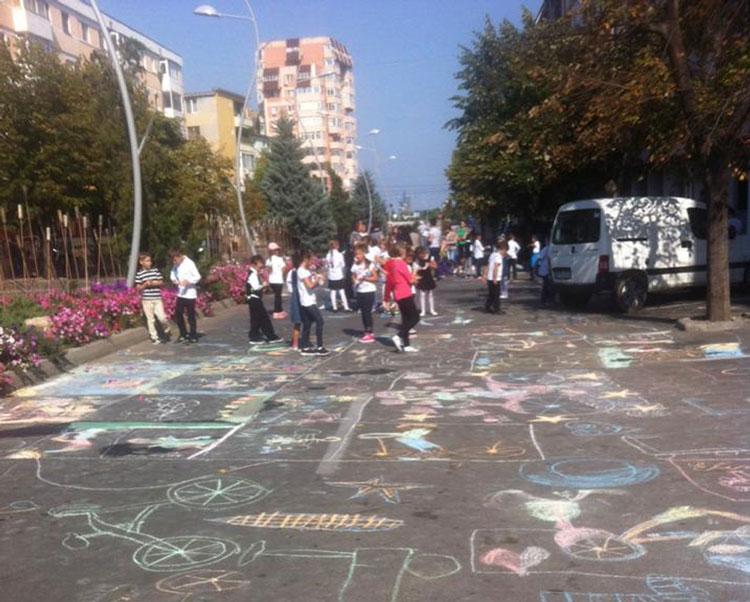 Concurs de desene organizat de Primăria Oraşului Isaccea cu ocazia Săptămânii Mobilităţii Europene