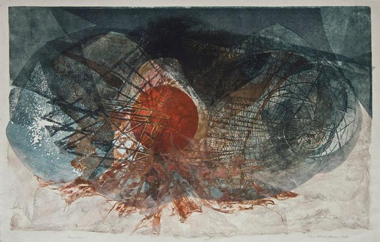 """""""Dispersie"""", de Hortensia Masichievici-Mişu, este lucrarea lunii septembrie la Muzeul de Artă"""