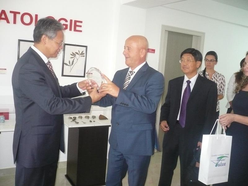 Jubileu la Tulcea: 20 de ani de prietenie şi cooperare între Consiliul Judeţean şi Suzhou