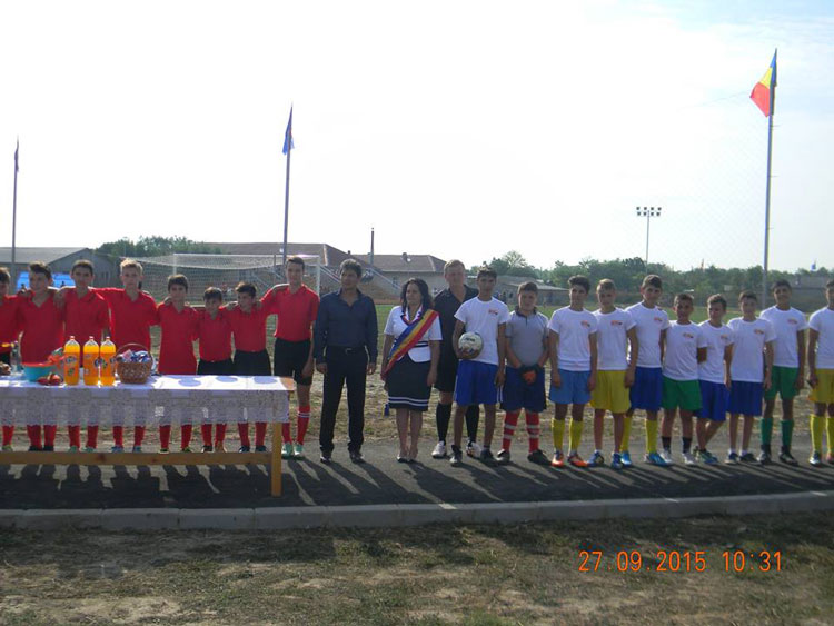 Bază sportivă inaugurată la Agighiol
