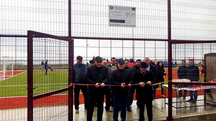 Bază sportivă, inaugurată la Somova