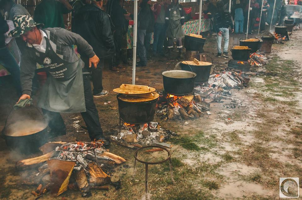 Jurilovca, în sărbătoare: 6 tone de borş pescăresc, 4.700 de oameni sătui, cânt şi voie bună!