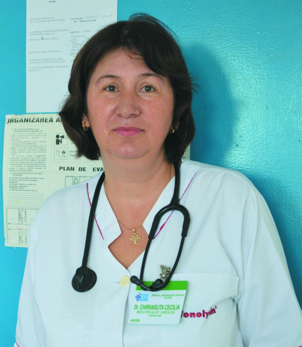 Medicul cardiolog Cecilia Chirvăsuţă, în arest la domiciliu pentru luare de mită în formă continuată
