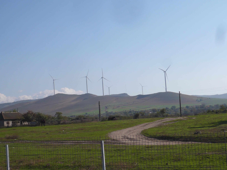 Parc eolian cu o capacitate de 20 MW, inaugurat la Cerna