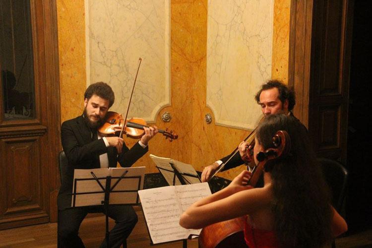 Concert cu dichis în sufrageria Avramizilor
