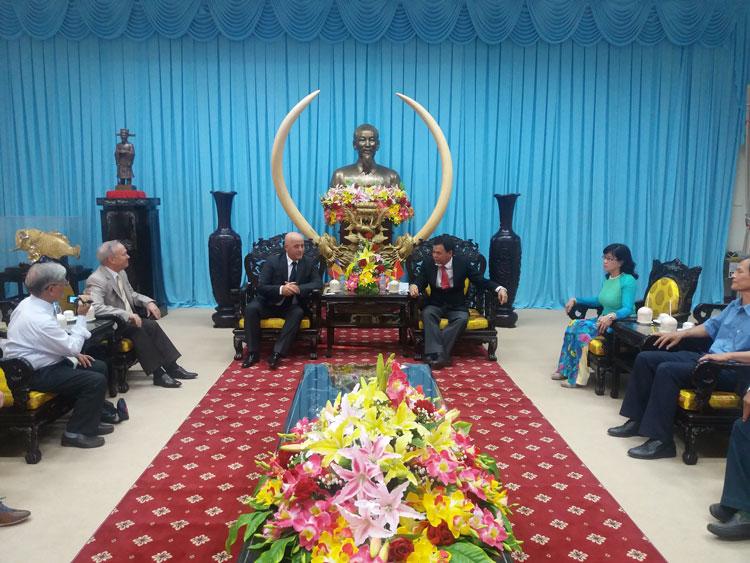 Judeţul Tulcea şi Provincia Ben Tre, Vietnam, parteneri de cooperare pe zone de deltă