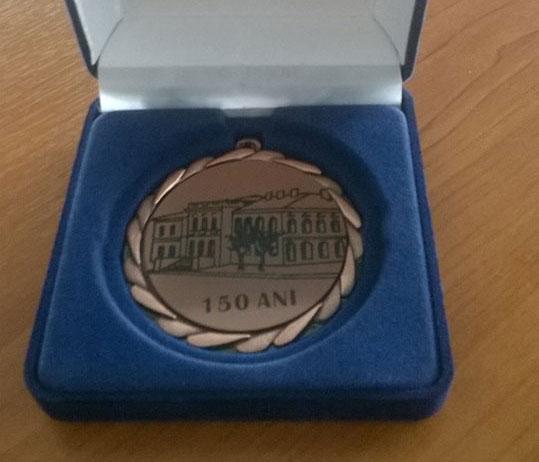 Medalii de recunoştinţă oferite de ICEM la 150 de ani de la inaugurarea Conacului Paşei