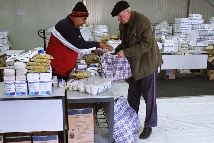 Alimentele de la Uniunea Europeană vin în martie