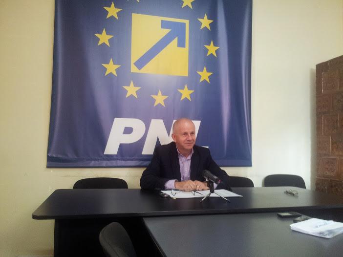 Co-preşedintele Vasile Gudu, oficial în lupta pentru prima poziţie pe lista PNL pentru Consiliul Judeţean