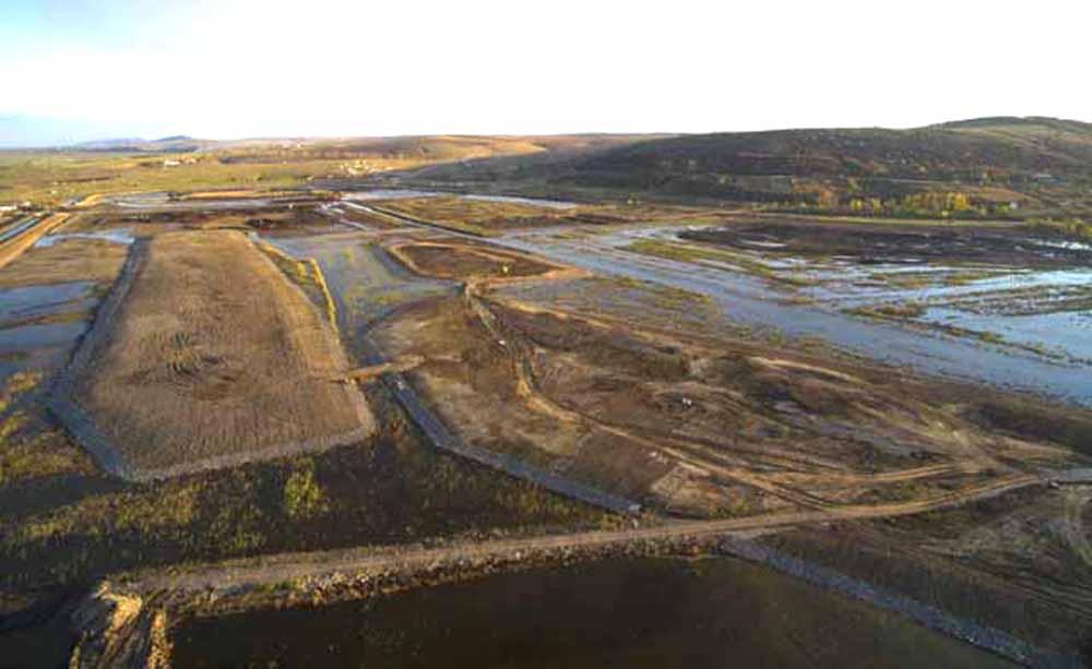 Mini-delta de la marginea municipiului, finalizată până la vară