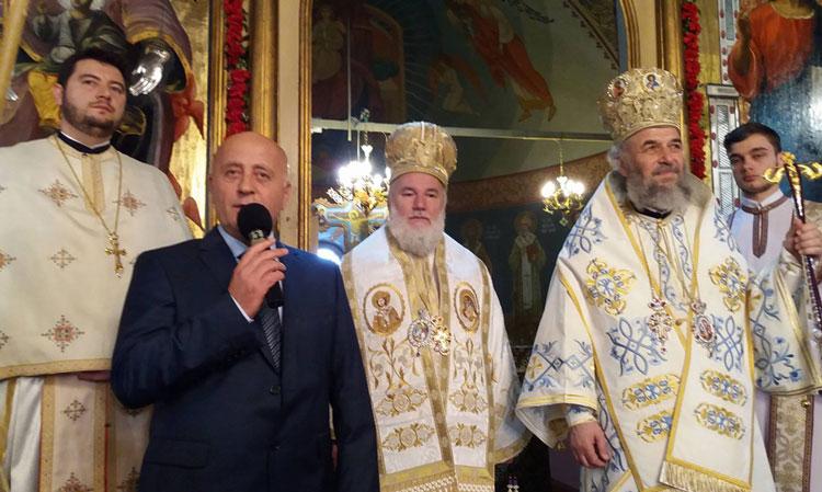 Hram la biserica Bunavestire: opt ani de la întronizarea Prea Sfinţiei Sale Visarion, Episcopul Tulcii