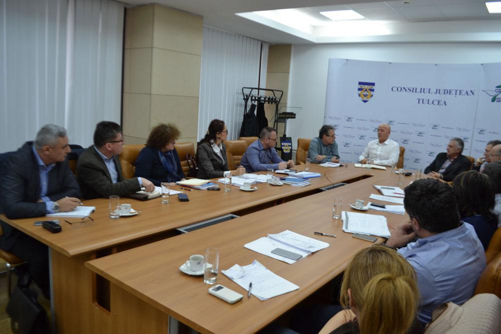 Preşedintele Horia Teodorescu, poziţie tranşantă pe chestiunea trecerii Portului Tulcea în administrare locală