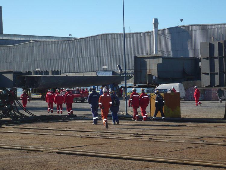 Şantierul naval VARD Tulcea va face primele reangajări imediat după Paşte