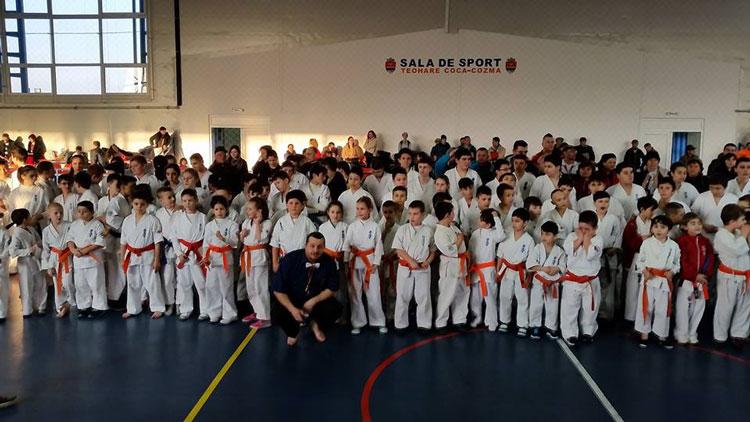 Luncaviţa, capitala karate-ului kyokushin