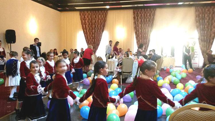 Recepţia caritabilă pentru Pediatrie, puţini participanţi, donaţii pe măsură