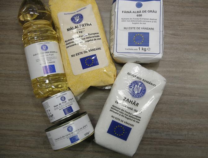 Sacoşa cu ulei, făină şi conserve de la U.E. devine istorie!