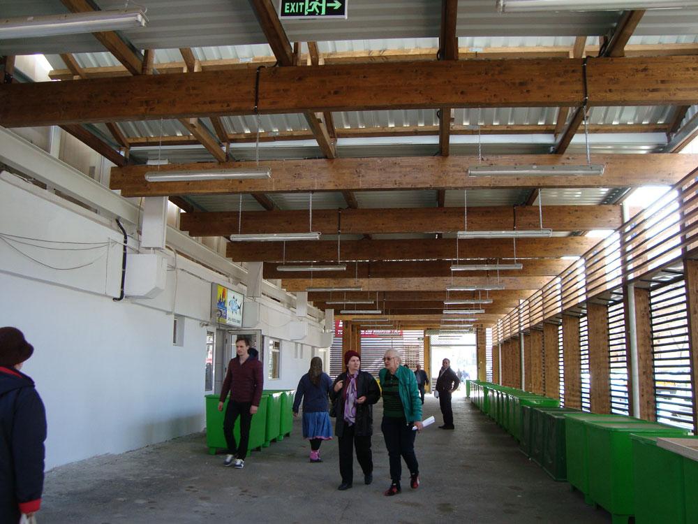 Sectorul pentru producători din Piaţa Nouă, redeschis tulcenilor începând de luni