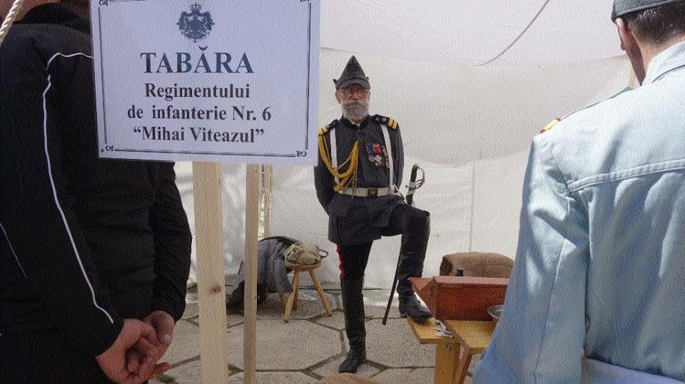 Tabără militară la Tulcea