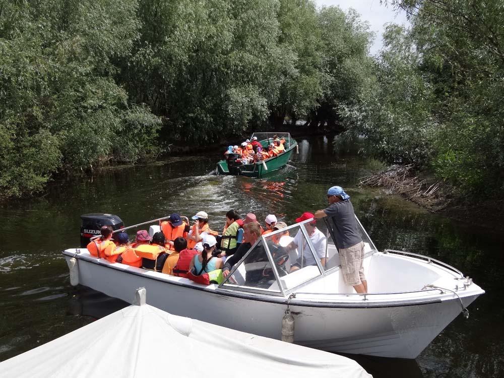 Transportul de persoane în Delta Dunării, motiv de scandal