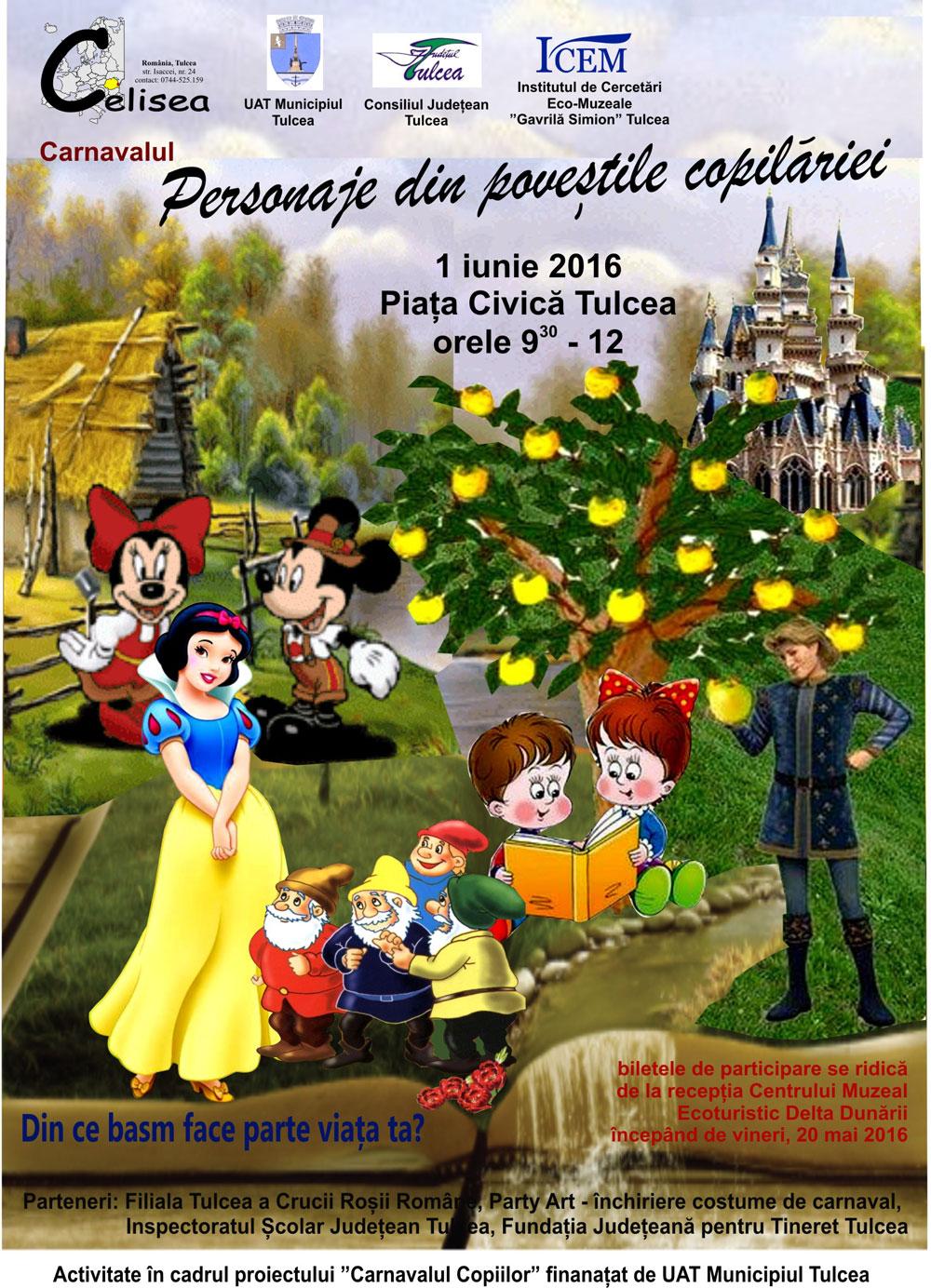 De 1 iunie, eşti invitat la carnaval!