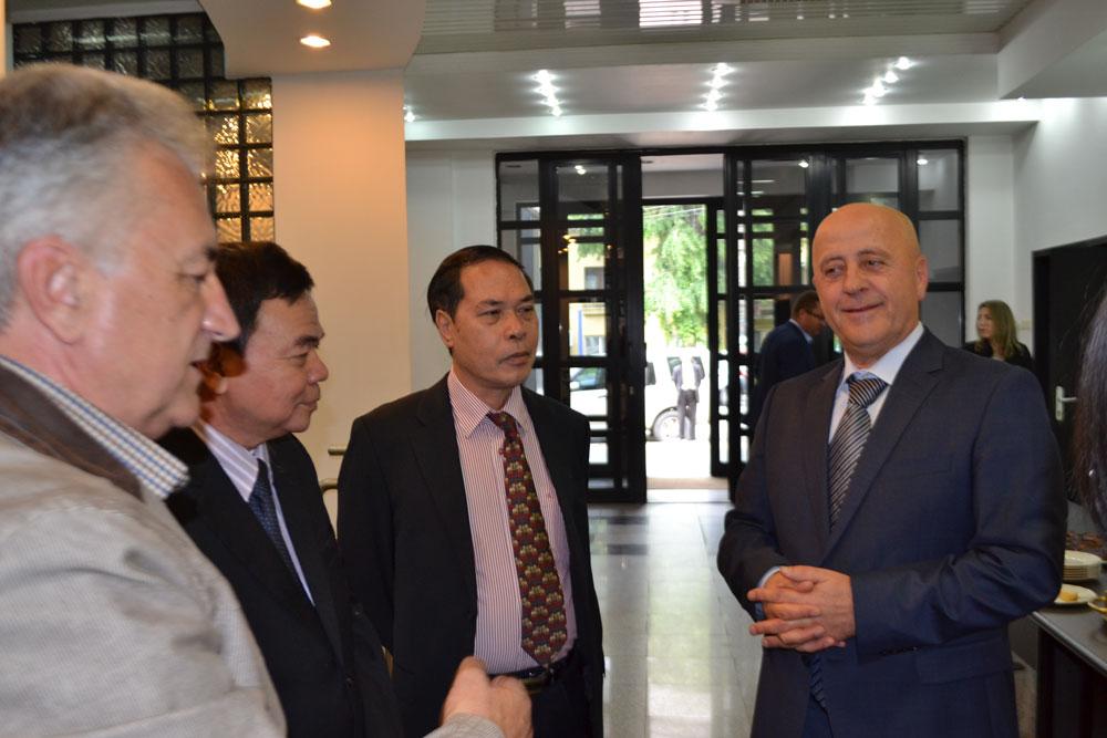 Delegaţie din Vietnam, în vizită de lucru în judeţul Tulcea