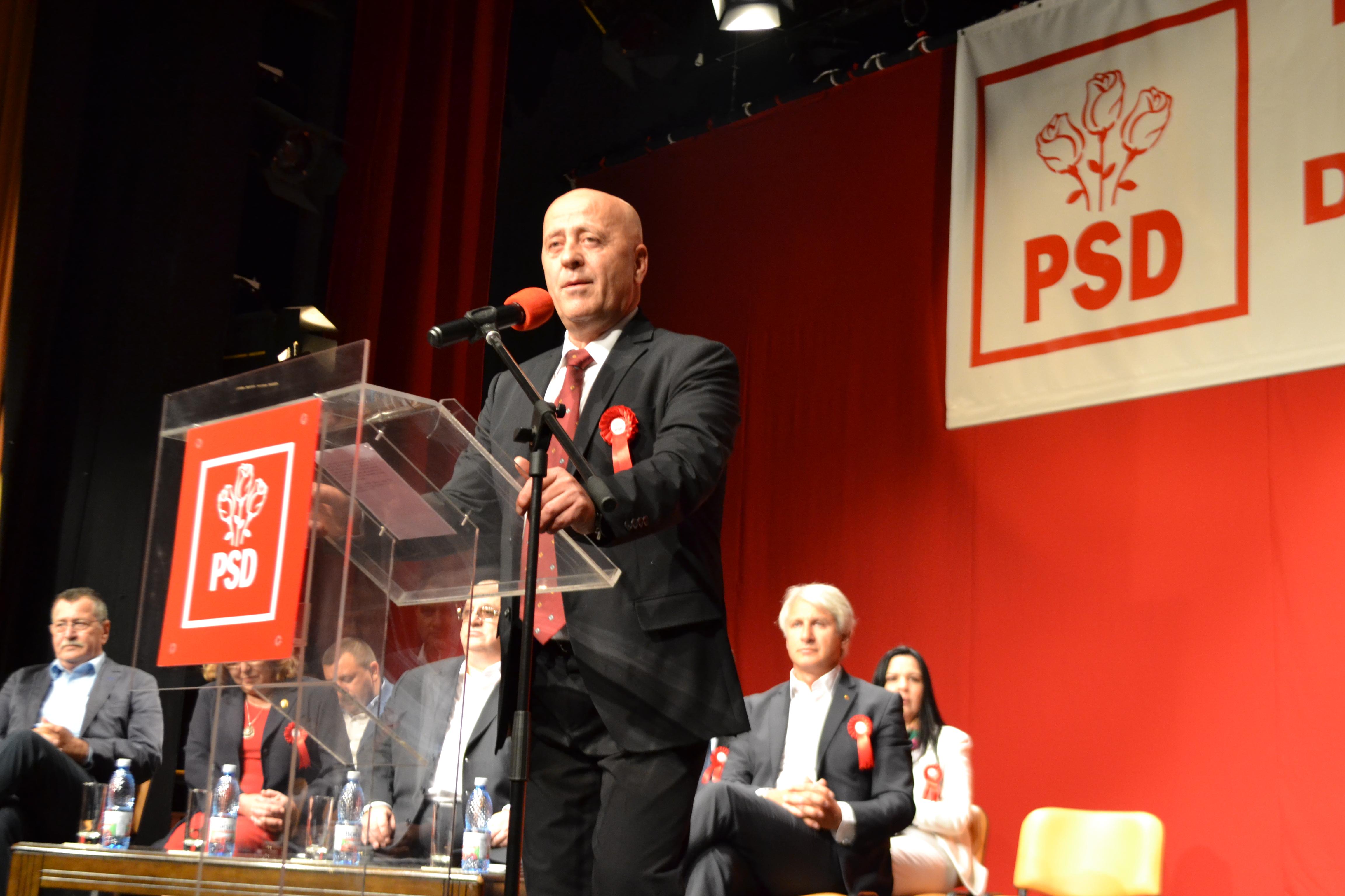 PSD şi-a lansat oficial la Tulcea candidaţii pentru alegerile locale