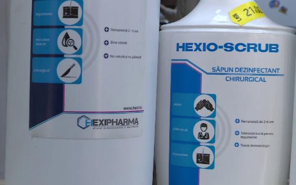 Spitalul Judeţean a retras din uz biocidele Hexi Pharma