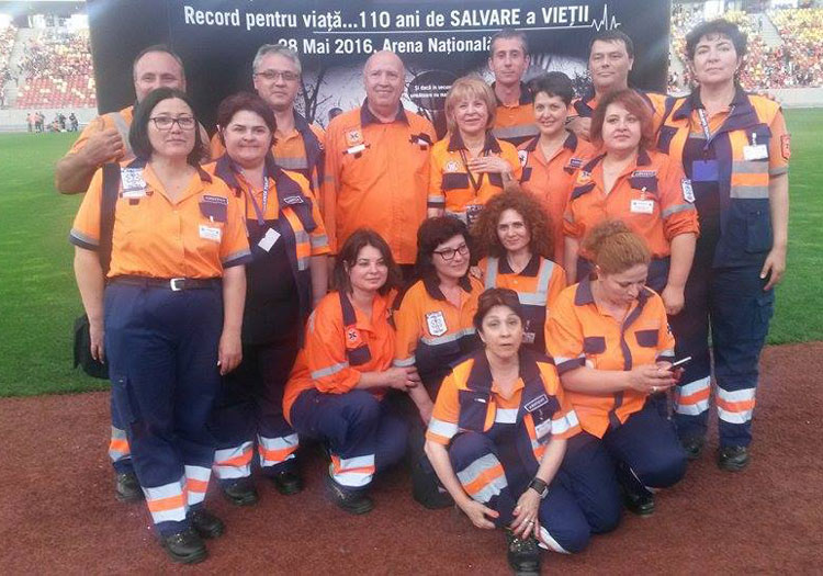 """Un curs de resuscitare va avea loc la Tulcea, pe stadionul municipal """"Delta"""""""