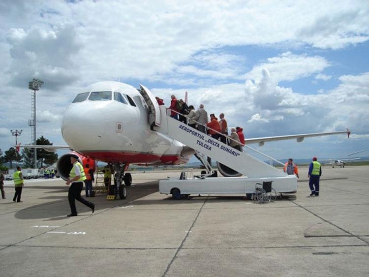 Aeroportul de la Mihail Kogălniceanu poate opera, din nou, zboruri