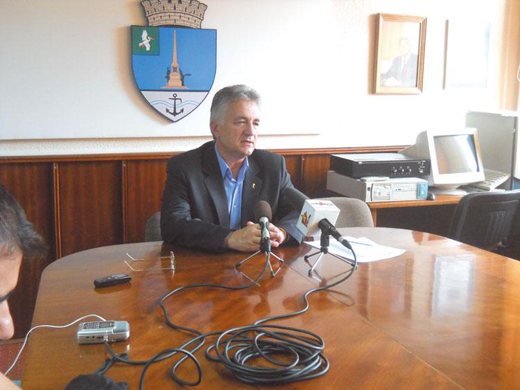 Constantin Hogea, la al patrulea mandat de primar al municipiului