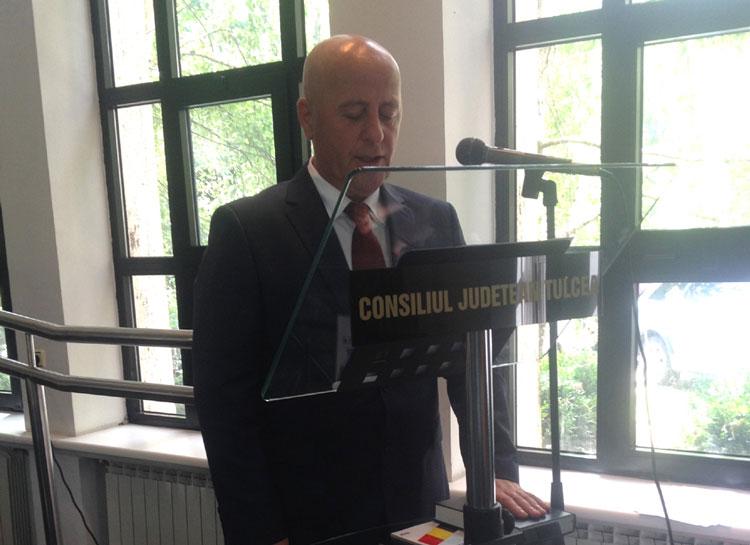 Horia Teodorescu, reales în funcţia de preşedinte al Consiliului Judeţean Tulcea