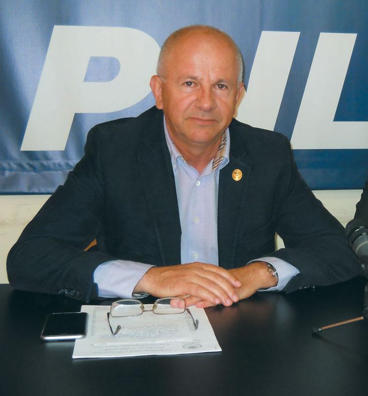 """Vasile Gudu (PNL): """"Am avut un target de 46% pe vot politic, nu am reuşit să îl atingem, deci sunt nemulţumit"""""""
