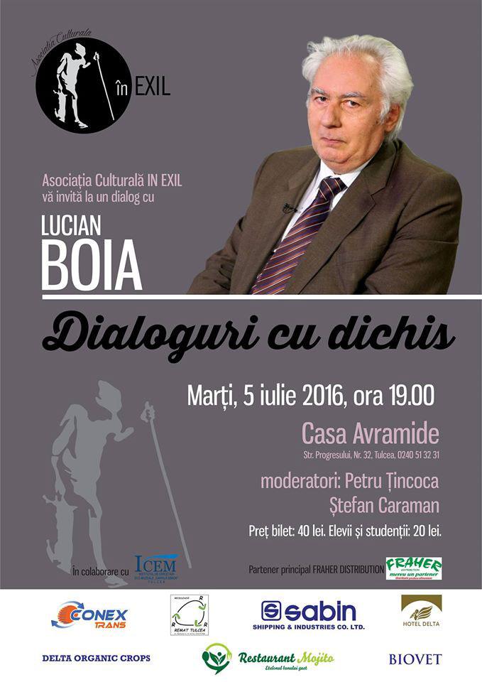 Lucian Boia, în dialog cu tulcenii