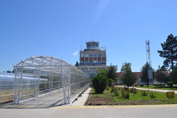 """Proiectul de reabilitare şi modernizare a Aeroportului """"Delta Dunării"""", la final"""