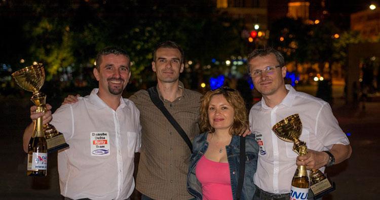 Emoţii mari pentru echipajul tulcean Daniel Pohariu şi Lucian Ştefan