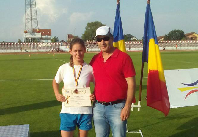 Tulceanca Oana Patricia Solunaru, medalie de bronz la suliţă