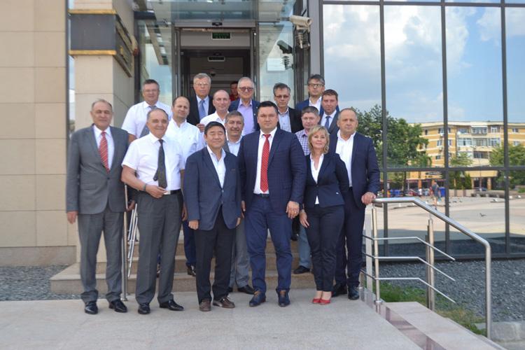 Ambasadorul Japoniei în România, încântat de Bazilica Paleocreştină, vinurile de la Niculiţel şi paradisul Deltei Dunării