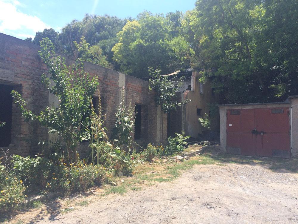 Fosta sală de sport de pe Isaccei a rămas fără acoperiş, în urma unui incendiu