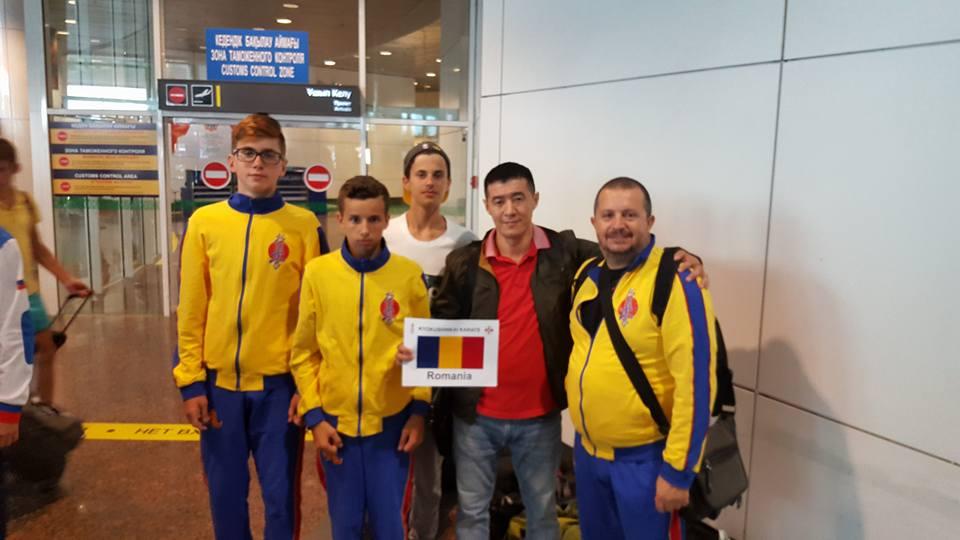 Trei sportivi de la Nippon Budo Sport Tulcea la Campionatul Mondial de karate kyokushin din Kazahstan