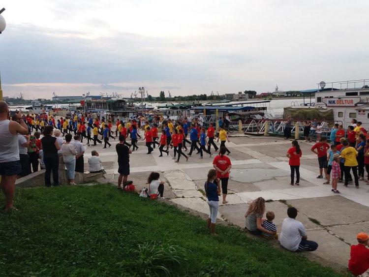 Ziua Dunării, sărbătorită cu un seminar transfrontalier, ateliere pentru copii şi un flashmob