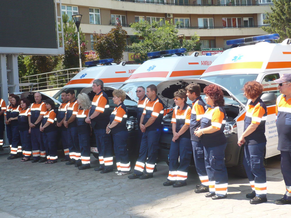 Ziua Naţională a Ambulanţei, ziua celor care salvează vieţi