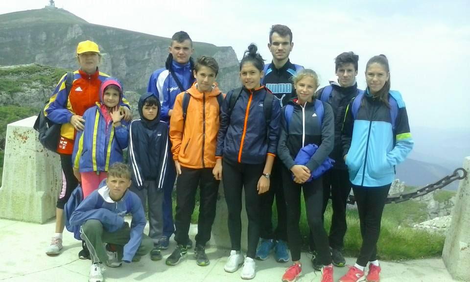 Atleţii tulceni, antrenament la 2000 de metri altitudine