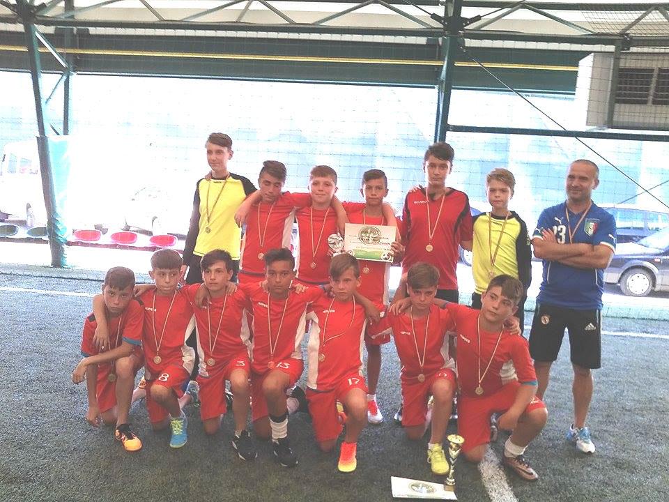 """Fotbal junior: CSS Tulcea, vicecampioana Cupei """"Prosport"""" Focşani"""