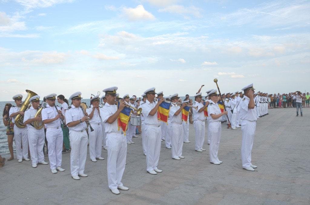 Invitaţie la concert: spectacol susţinut de Muzica Militară a Forţelor Navale pe faleza de la Tulcea