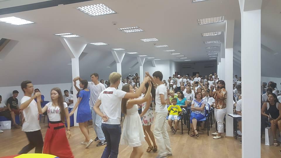 Olimpicii din Regiunea Cernăuţi au încheiat la Sulina Programul de Tabere ARC-2016