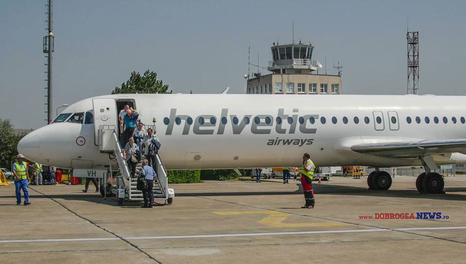 """Prima cursă charter de după lucrările de modernizare a aterizat, duminică, pe Aeroportul """"Delta Dunării"""""""